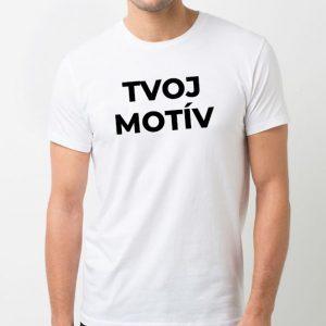 Pánske biele tričko - SUPER CENA!