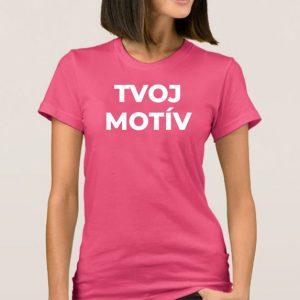 Dámske tričko Basic (34 farieb)