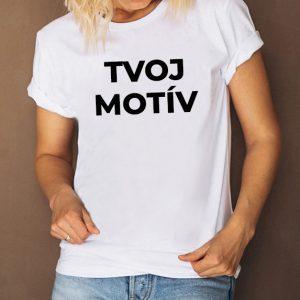 Dámske biele tričko - SUPER CENA!