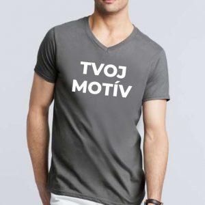 Pánske tričko V-NECK