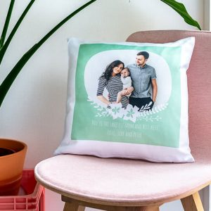 Mock up view of a pillow - 3d rendering