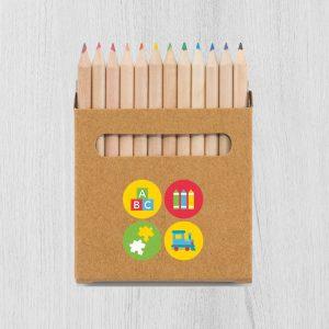 Set 12 pasteliek v škatuľke