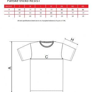 Pánske pracovné tričko RESIST