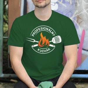 Pánske tričko s potlačou kuchár