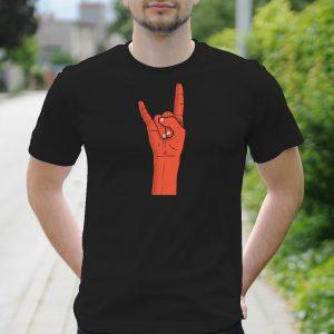 Pánske tričko s potlačou Rock and Roll