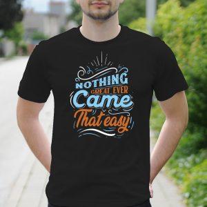Pánske tričko s potlačou Motivácia