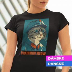 Tričko s potlačou CHAIRMAN MEOW
