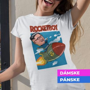 Tričko s potlačou ROCKETBOY