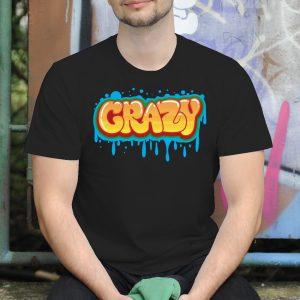 Pánske tričko s potlačou Crazy