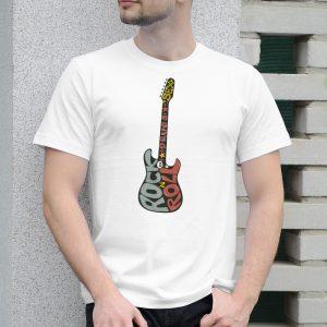 Pánske tričko s potlačou Rock