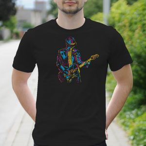 Pánske tričko s potlačou Guitar