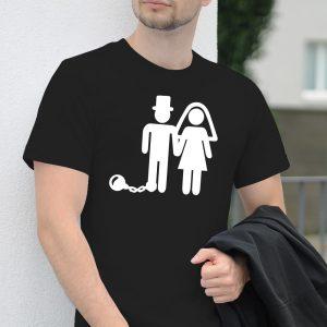 Pánske tričko s potlačou Manželstvo