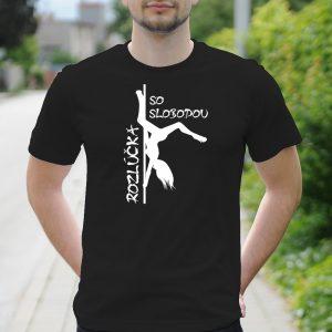 Pánske tričko s potlačou Rozlúčkové