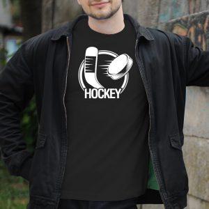 Pánske tričko s potlačou Hokejka