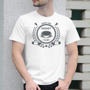 Pánske tričko s potlačou Hokejové