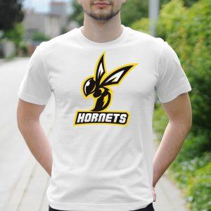 Pánske tričko s potlačou Hornets