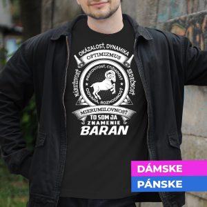 Tričko s potlačou BARAN
