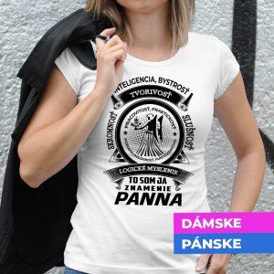 Tričko s potlačou PANNA