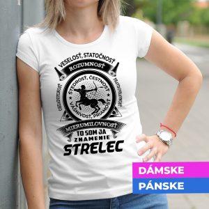 Tričko s potlačou STRELEC