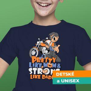 Tričko s potlačou Pretty