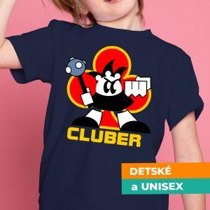 Tričko s potlačou Cluber