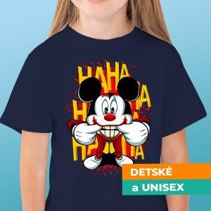 Tričko s potlačou Mickey