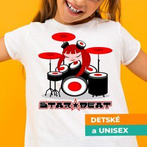 Tričko s potlačou Star beat