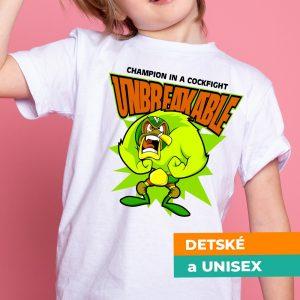 Tričko s potlačou Unbreakble