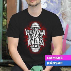 Tričko s potlačou Činka