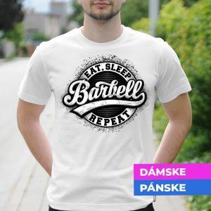 Tričko s potlačou Barbell