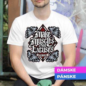 Tričko s potlačou Cvičenie