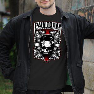 Tričko s potlačou Pain today