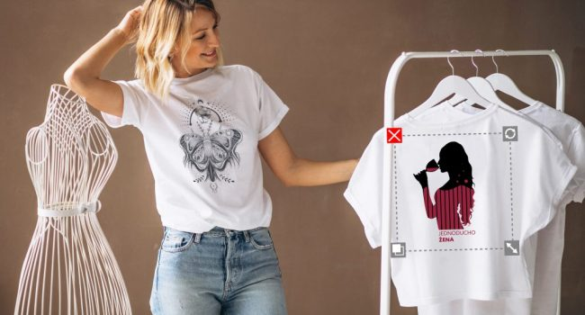 vytvor si vlastné akciové tričko už od 3,90 €