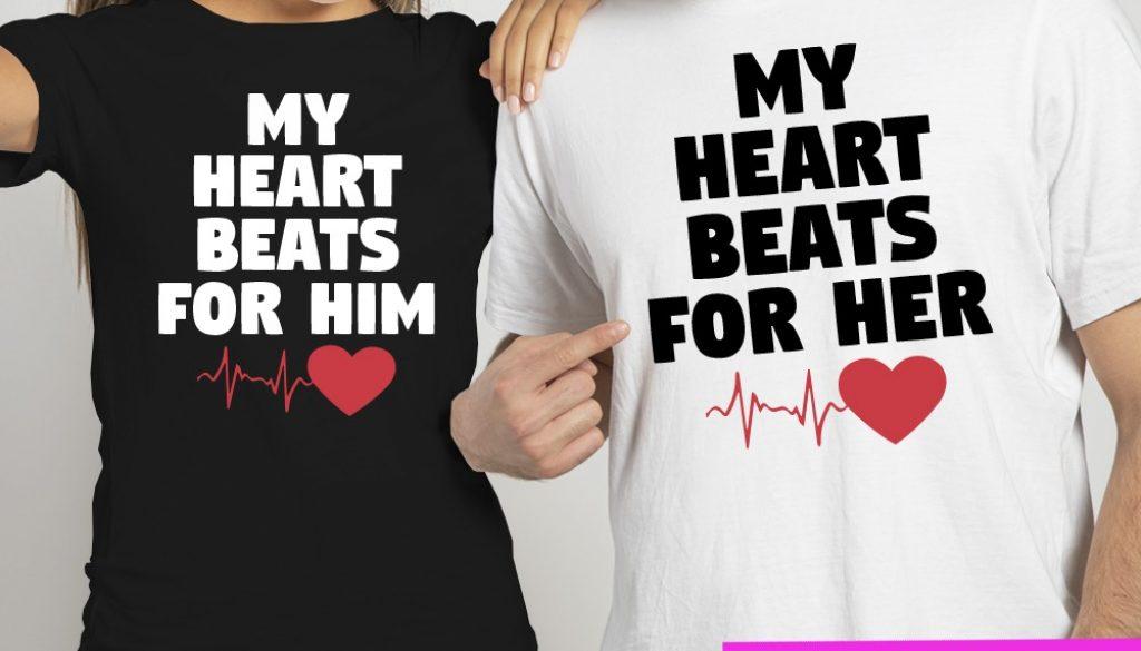 27-005-biele-cierne-tricko-s-potlacou-pre-pary-zalubenych-zamilovanych-laska-frajerka-frajer-frajerku-frajera-dvojica-vztah-spolu-love-heart-srdce