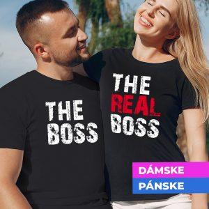 Tričko s potlačou The Boss