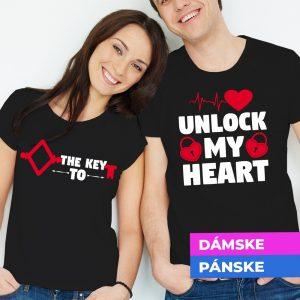 Tričko s potlačou The Key