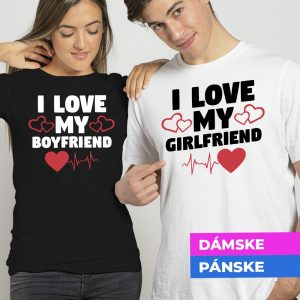 Tričko s potlačou I love