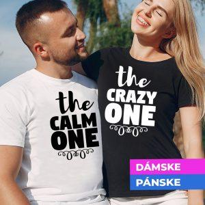 Tričko s potlačou The crazy one