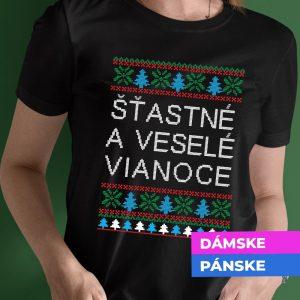 Vianočné tričko s vlastným textom
