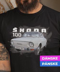 29-008c-tricko-s-potlacou-skoda-100-auto-veteran-cesko-slovensko-ceskoslovenske-auta