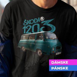 Tričko s potlačou ŠKODA 1203