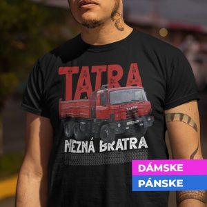 Tričko s potlačou TATRA