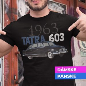 Tričko s potlačou TATRA 603