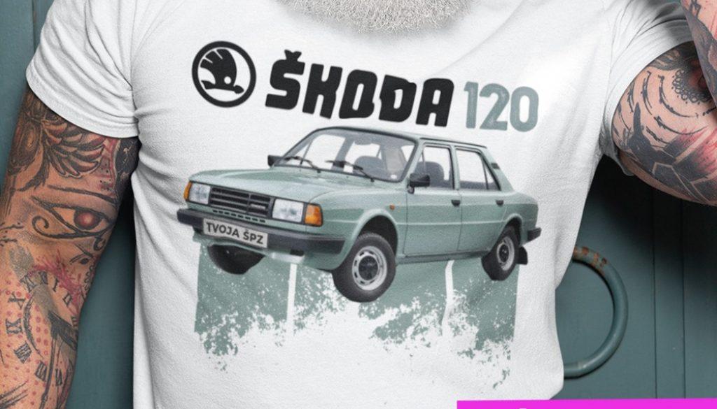 29-015b-tricko-s-potlacou-skoda-120-auto-veteran-cesko-slovensko-ceskoslovenske-auta