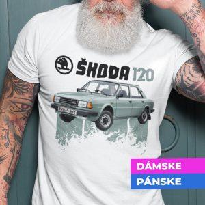 Tričko s potlačou ŠKODA 120