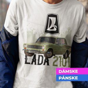 Tričko s potlačou LADA 2101