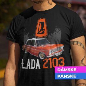Tričko s potlačou LADA 2103