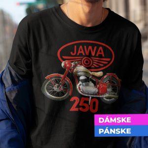 Tričko s potlačou JAWA 250