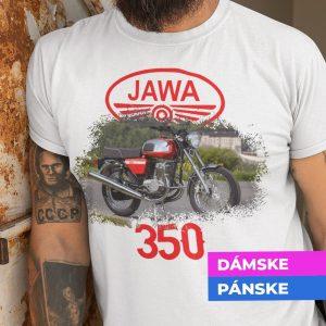 Tričko s potlačou JAWA 350