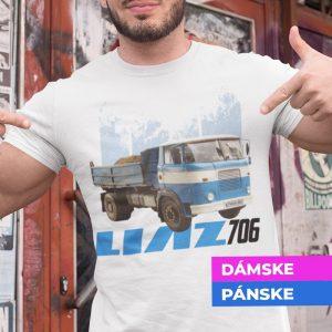 Tričko s potlačou LIAZ 706